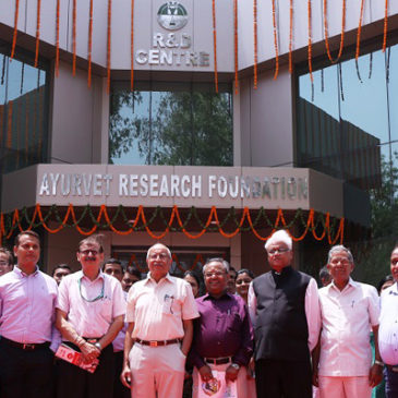 Mr. Pradip Burman at the Inauguration of a Research Lab: