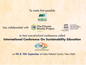 ICSE 2019 – Mobius Foundation and Climate Reality Project India in partnership with UNESCO
