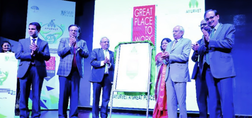 "Mr. Pradip Burman at ""Great Place to Work"" Award Celebration at PHD Chambers of Commerce , New Delhi"