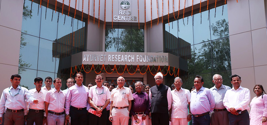 Inauguration of a Research Lab by Mr.Pradip Burman