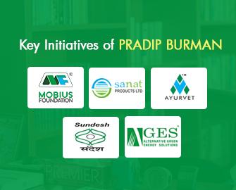 Key initiatives by Mr. Pradip Burman